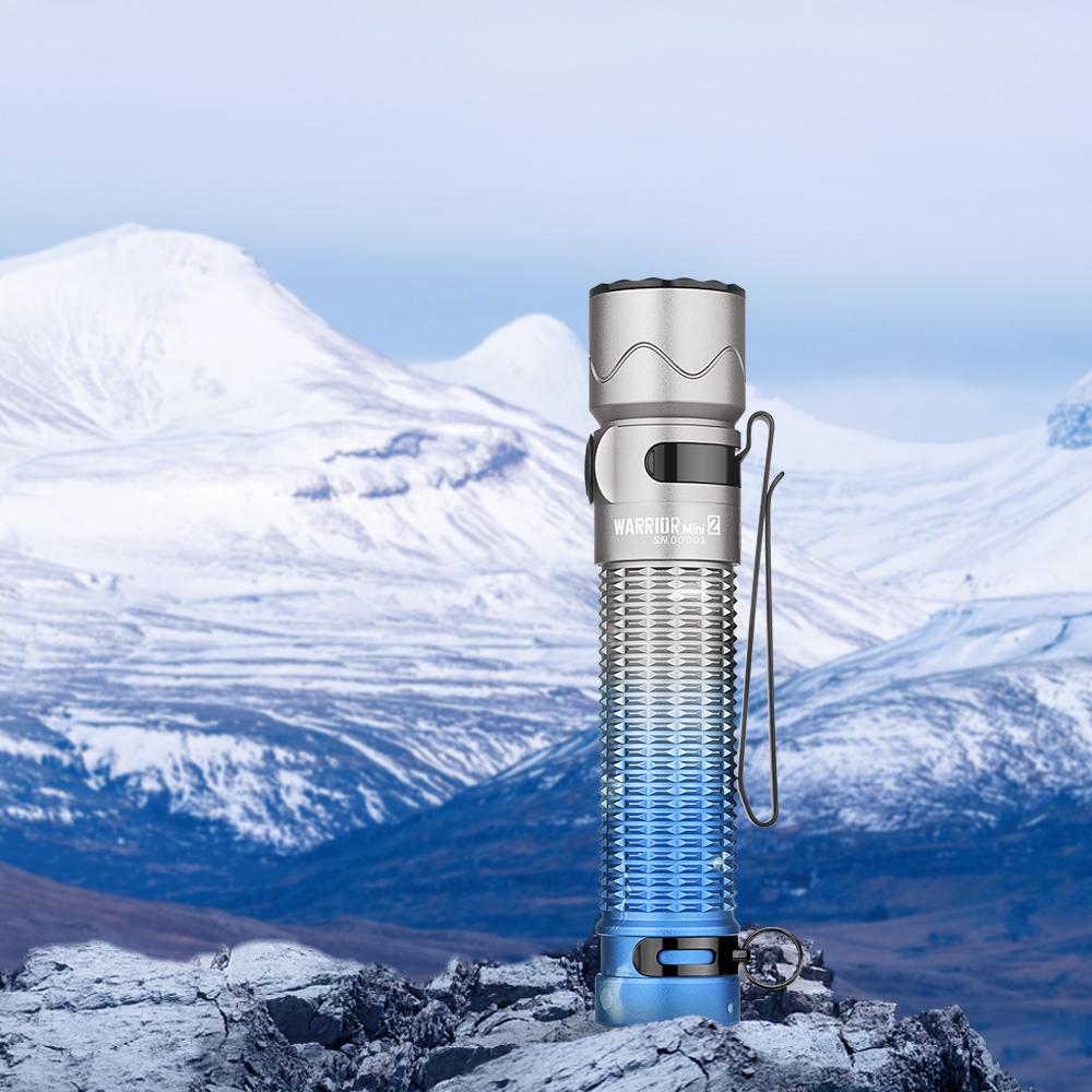 Olight Warrior Mini 2 Moutain Sky Tactical Torch